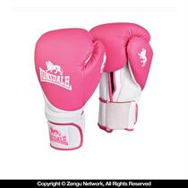 Lonsdale Club Pink Boxing Gloves